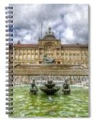 Council House And Victoria Square - Birmingham Spiral Notebook