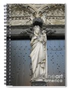 Count Your Blessings- St Mary Of Brugge- 01 Spiral Notebook