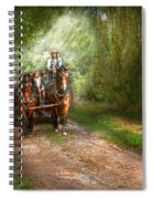 Country - Horse - The Hay Ride  Spiral Notebook