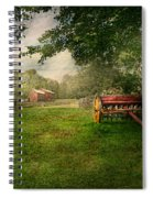 Country - The Crops Almost Ready  Spiral Notebook