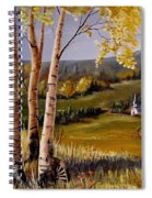 Country Church Spiral Notebook
