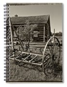Country Classic Monochrome Spiral Notebook