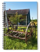 Country Classic Oil Spiral Notebook