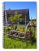 Country Classic Paint Filter Spiral Notebook