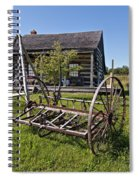 Country Classic Spiral Notebook