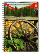 Country Fence Spiral Notebook