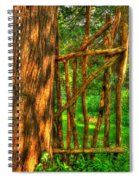 Country Gate Spiral Notebook