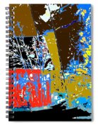 Country Patchwork Spiral Notebook