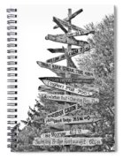 Country Places Spiral Notebook