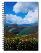 Country Road, Near Luggala Mountain, Co Spiral Notebook
