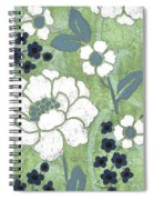Country Spa Floral 2 Spiral Notebook