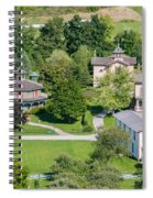 Country Village Spiral Notebook