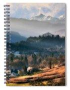 Countryside. Slovenia Spiral Notebook