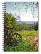 Countryside Wagon Spiral Notebook