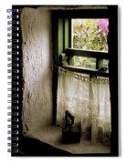 County Kerry, Ireland Cottage Window Spiral Notebook