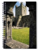 County Kilkenny, Ireland Jerpoint Abbey Spiral Notebook