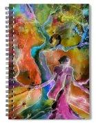 Coup De Foudre Spiral Notebook