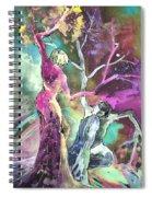 Coup De Grace Spiral Notebook
