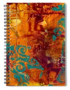 Courageous Journey I Spiral Notebook