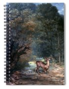Courbet: Hunted Deer, 1866 Spiral Notebook