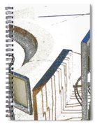 Courthouse Bicycle Rack Spiral Notebook
