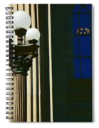 Courthouse Lights Spiral Notebook