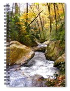 Courthouse River In The Fall 2 Spiral Notebook