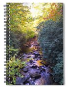 Courthouse River In The Fall 3 Spiral Notebook
