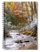 Courthouse River In The Fall Spiral Notebook