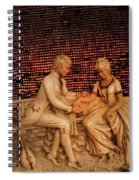 Courting Spiral Notebook