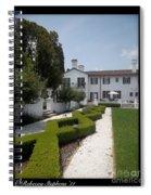 Courtyard At Crane Zig Zag Maze Spiral Notebook