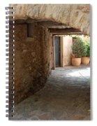 Courtyard In The Village Spiral Notebook