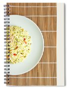 Cous Cous Salad Spiral Notebook