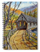 Covered Bridge 04 Spiral Notebook