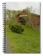 Covered Bridge Zumbrota 3 Spiral Notebook