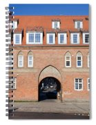 Cow Gate In Gdansk Spiral Notebook