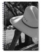 Cowboy Fashion Spiral Notebook