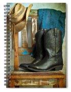 Cowboy Spiral Notebook