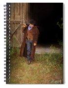 Cowboy With Guns Spiral Notebook
