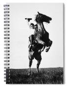 Cowboys, 1909 Spiral Notebook