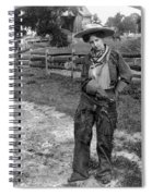 Cowgirl, C1906 Spiral Notebook