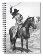 Cowgirl, C1920 Spiral Notebook