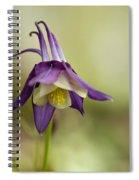 Coy Columbine Spiral Notebook