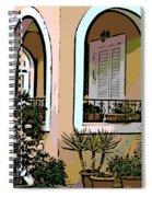 Cozy Arches Spiral Notebook