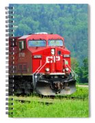 Cp Coal Train Spiral Notebook