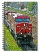 Cp Rail Engine Spiral Notebook