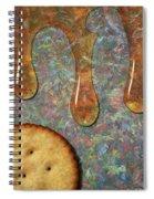 Cracker Honey Spiral Notebook