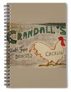 Crandalls Spiral Notebook