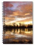 Crane Hollow Sunrise Boulder County Colorado Spiral Notebook