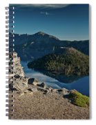 Crater Lake Afternoon Spiral Notebook